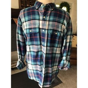 Men's button up flannel